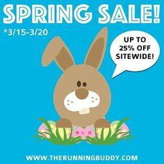 "SPRING SALE BEGINS NOW! Exclusive sale codes below:  25% off sitewide on orders $60 use code Spring25""  20% off sitewide on orders $40 use code Spring20  15% off sitewide on orders $20 use code Spring15 ________________________________________________________#BuddyPouch#TheRunningBuddy#RunningBuddy#RunNerd#runningaddict#runninggear#runnergang#runnerlife#runnergirls#RunDisney by buddypouch"