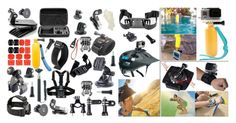 57-in-1 Outdoor Sports Action Camera Accessories Kits  Calling all GoPro users!  These are awesome Accessories Kit for all the Gopro lovers. It will be eligible for all the sizes of GoPro cameras includes Gopro 4 Gopro Hero 3gopro Hero 3gopro Hero 2 and Gopro Hero Cameras.Each of our small part is manufactured by a professional teammeanwhile Gogolook Accessory kits for action camera will be shipped directly from Amazons Warehouse sold by Gogolook!  57-in-1 Outdoor Sports Action Camera…
