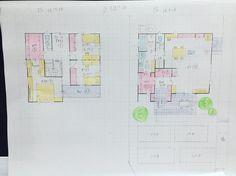 30坪 南玄関 ファミリークローゼット充実!書斎あり!回遊できるお家 | ♡Fumi 's Blog♡30から建築士を目指すワーママブログ
