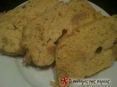 Γρήγορο ψωμάκι χωρίς υδατάνθρακες #sintagespareas Low Carb Keto, Paleo, Sweets, Bread, Cookies, Breakfast, Desserts, Personal Style, Food
