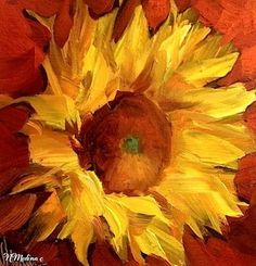 Sunflower by Nancy Medina