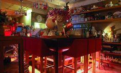 Sofa Bar. Ekkamai between Soi 3 and Soi 5.. This tiny, pretty bar has been traveling around Bangkok since 1999.