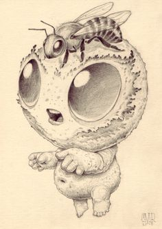 Artist Chris Ryniak. Cute critters and monsters creator