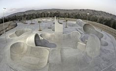 68,000 square feet, Lake Cunningham Regional Skate Park in San Jose is the largest in California