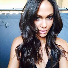 If someone had been living under a rock for the past few years, they would only need to look at Joan Smalls's Instagram feed to figure out what a selfie is and find all the different kinds that one could possibly take. The Puerto Rican supermodel takes every opportunity she has to snap a picture of herself. From behind-the-scenes shots at photo shoots with a few supermodel friends to bathroom-mirror selfies, Joan has mastered and even created a few selfie types.