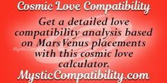 It makes a lot of sense if you took the cosmic love test with your lover. Love Test, Love Calculator, Love Compatibility, Cosmic