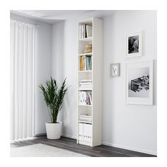 BILLY Bookcase IKEA Adjustable shelves can be arranged according to your needs. Surface made from natural wood veneer.