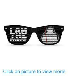 I AM THE FORCE black Party Wayfarer Sunglasses