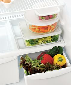 more tips on storing produce