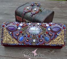Amazing bead embroidered bags   Beads Magic
