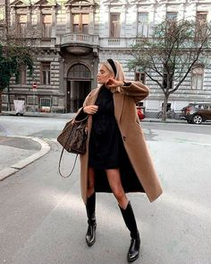 Winter Fashion Outfits, Fall Winter Outfits, Autumn Winter Fashion, Classy Fall Outfits, New York Winter Outfit, New York Winter Fashion, Cold Day Outfits, Winter Chic, Cold Weather Outfits