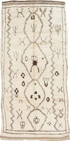 Mid-Century Moroccan Rug #44586  http://nazmiyalantiquerugs.com/antique-rugs/vintage-rugs/