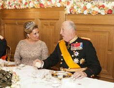 Wedding Ceremony of Prince Guillaume and Countess Stephanie  at the Luxembourg  - King of Norway