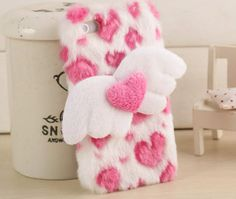 *Free Ship* Cutie Love heart shape wing iphone 4/4s and 5/5s | deviliq | Online Store Powered by Storenvy