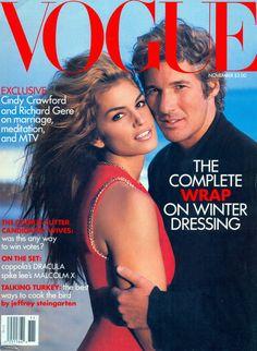 Vogue November 1992  Cindy Crawford and Richard Gere