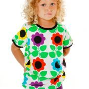 T-Shirt - Flower by DUNS Sweden, available at www.nordliebe.com