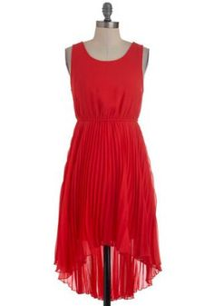 All Day Cachet Red Dress