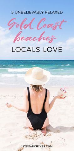 5 Unbelievably Relaxed Gold Coast Beaches that Locals Love. Australia Travel Ideas.