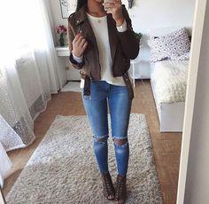 Ideas para usar Jeans durante todo el invierno