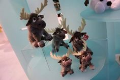 Facebook: Inside the Magic  Multiple sizes of Sven beanies from Ty at Toy Fair