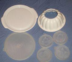 Vintage Tupperware jello mold 617229616 by SquareNailSalvage