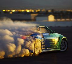 Nissan Drift Car - make your own clouds