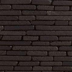Revestimento Fileto de Mármore Preto Molhado