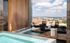 Summer in DC can be sweltering. If you're apartment hunting, be sure to put these places on your list. These are the best apartment rooftop pools in DC. Cool Apartments, Luxury Apartments, Dupont Circle, Apartment Hunting, Rooftop Pool, Washington Dc, Pools, Good Things, Architecture