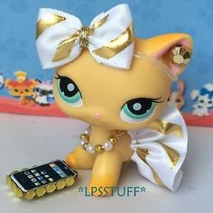 Littlest-Pet-Shop-LPS-Clothes-Accessories-Custom-Outfit-Lot-CAT-NOT-INCLUDED