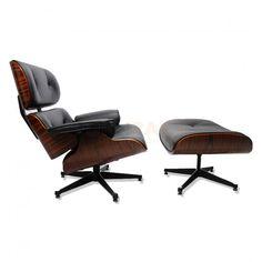Eames Lounge chair set met Ottoman - Charles & Ray Eames