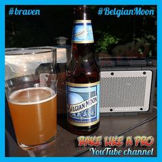 Love the weekends !  Listening to music on my Braven bluetooth speaker and drinking this really great Belgian Moon beer.  #braven #belgianmoon  #belgianmoonbeer  #beer #weekend #instagood #instadaily @bravenproducts @belgian_moon