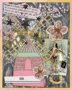 Digital art journal layout. {Credits: Tangie Baxter}