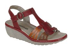 Remonte R3750 Ladies Wedge Heeled Casual Sandal - Robin Elt Shoes  http://www.robineltshoes.co.uk/store/search/brand/Remonte/ #Spring #Summer #SS14 #2014 #Sandals