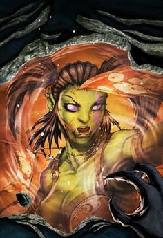 20 Superb World of Warcraft digital art and illustrations gathered , world of warcraft. Garona Warcraft, Warcraft Movie, World Of Warcraft, Fantasy Warrior, Fantasy Art, Blizzard Warcraft, Female Orc, Video Game Posters, Video Games