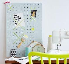 ➥ Diese selbst gemachten Pinnwände sind echte Hingucker im Arbeitszimmer, im Flur oder in der Küche.