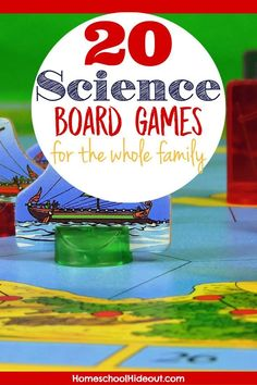 Introduce new ideas using these top 20 science board games!