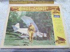 Original 1961 Movie Theater Lobby Card Wings of by AVintageStore