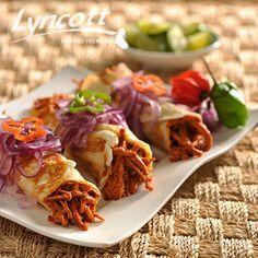 Tacos de Cochinita en costra de Queso www.institutoculinariolyncott.com