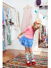 Official Mim-Pi Webshop for Girls Clothing Blue Tulle Skirt, Party Skirt, Blue Party, Baby Fever, Playing Dress Up, Girl Fashion, Light Blue, Girl Outfits, Kids Rugs
