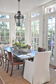 sunroom interiors | Sunroom Dining | INTERIOR DESIGN IAccent on Design I Blog