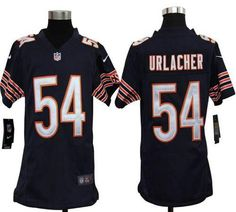 Nike Bears #54 Brian Urlacher Navy Blue Team Color Youth Embroidered NFL Elite Jersey prices USD $23.50 #cheapjerseys #sportsjerseys #popular jerseys #NFL #MLB #NBA