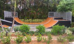 Delray, Florida Backyard Skatepark by American Ramp Company ARC Skateparks, via Flickr