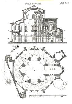 Pianta-Basilica-di-san-vitale-Ravenna-riassunto-breve-appunti-di-storia-arte.jpg (1008×1446)
