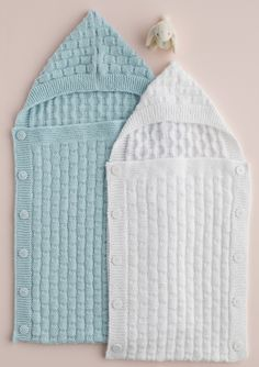 Knitted baby cocoon by Patons Australia
