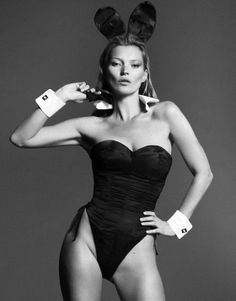 Kate Moss Playboy Jan 2014 by Mert and Marcus