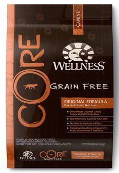 Wellness CORE Natural Grain Free Dry Dog Food, Original Turkey and Chicken, Bag >>> Quickly view this special dog product, click the image : Dog food brands Turkey Recipes, Dog Food Recipes, Chicken Recipes, Deboned Turkey, Wellness Core, Grain Free Dog Food, Turkey Chicken, Dog Food Brands, Dry Dog Food