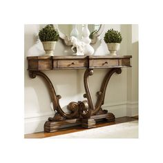 972 Sanctuary Thin Console-Amber Sands by Hooker Furniture