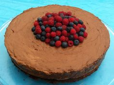 Sjokoladekake i dur og moll - fransk sjokolademoussekake