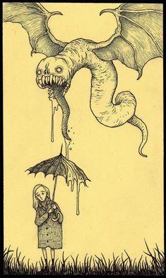 Ilustraciones John. Dibujo.