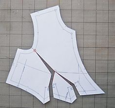 How to do an FBA on Butterick 6168 (Lisette surplice dress/tunic) OR any pleated surplice bodice. It has been so hard to find how to do this kind of FBA ... look no more!